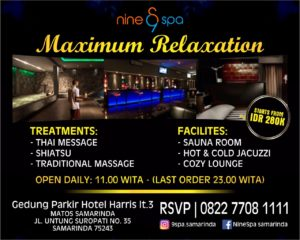 SPA SAMARINDA - NINE SPA THE BEST PLACE SPA IN SAMARINDA